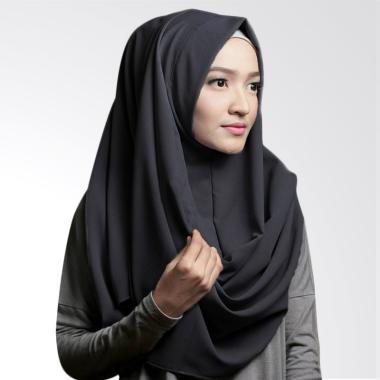 Pashmina Instan Oshi Sabrina Jilbab Instan - Hitam