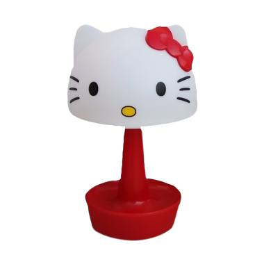 Hello Kitty Lampu Meja Tudung Rechargable - Red