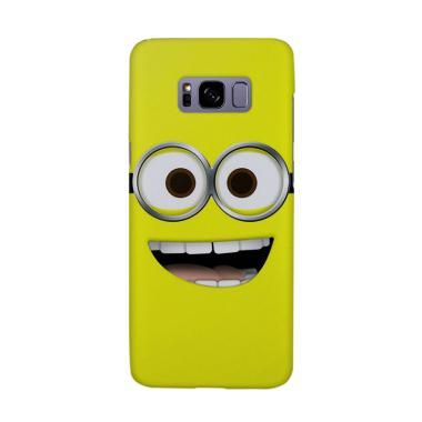 Indocustomcase Cartoon Minion CR01 Cover Casing for Samsung Galaxy S8