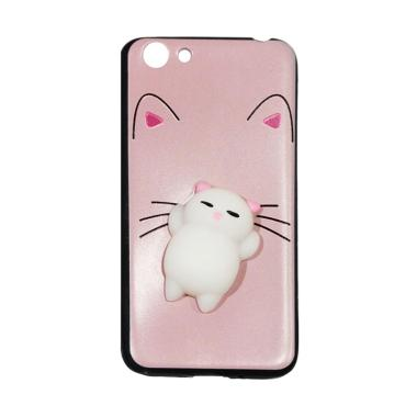 Winner Squishy Lazy Cat Softcase Casing for Vivo Y53