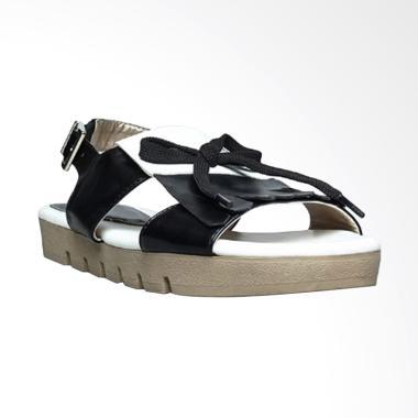 Farish Kruger Sepatu Sandal Wanita - Black