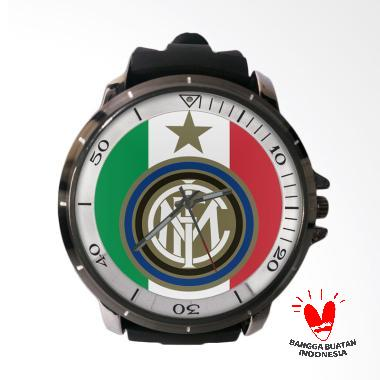 Fika Inter Milan Keren Rubber Custom Jam Tangan Pria
