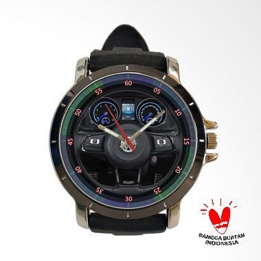 Fika VolksWagen Keren Rubber Custom Jam Tangan Pria