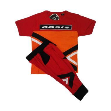 Baby Zakumi 1118 Oasis Setelan Baju Anak Laki laki - Red