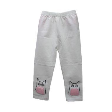 Import Kid D6057 Celana Legging Anak Perempuan - White