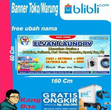 Jual Banner Laundry Agustus 2021 Banyak Pilihan Harga Murah Blibli