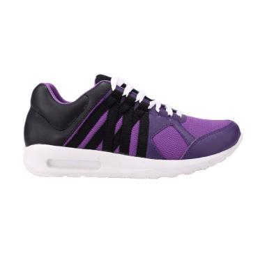 Catenzo Running Shoes Sepatu Lari Wanita - Purple [HF 012]