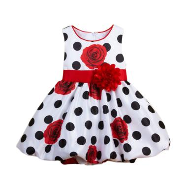 CHICLE Import  Dress Anak - Red