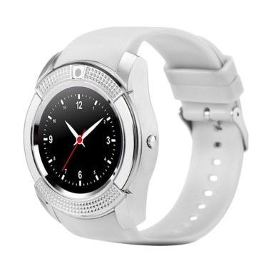 SOXY CC0406W The New V8 intelligent Men's Camera Smartwatch - White