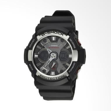 Casio G-Shock Analog Digital Rubber ... ia - Silver [GA-200-1ADR]