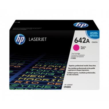 HP 642A Original LaserJet Toner Cartridge - Magenta