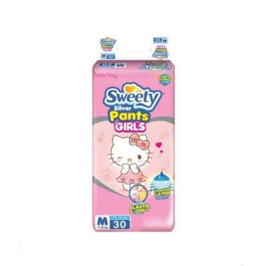 Sweety Silver Pants Girls M30