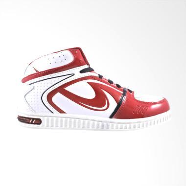 Trekkers RD Leaker Sepatu Pria - Putih Merah Bata
