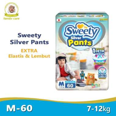SWEETY Silver Pants M60   Sweety Silver Pants M 60