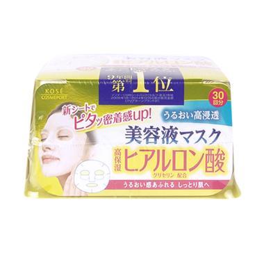 Kose Cosmeport Clear Turn Essence H ...  Masker Wajah [30 Sheets]