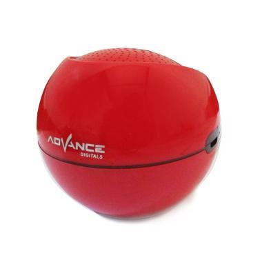 Advance ES030R Mini Portable Suppor ... Bluetooth Speaker - Merah