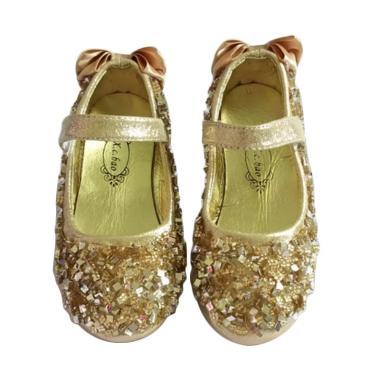 GBS Party Glitter Sepatu Anak Perempuan - Gold