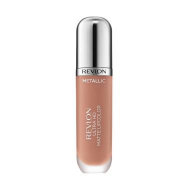Revlon Ultra HD Matte Lip Color in Mettalic Lipstick - Glow 715