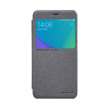 Nillkin Sparkle Leather Flip Cover  ... omi Redmi Note 5A - Black