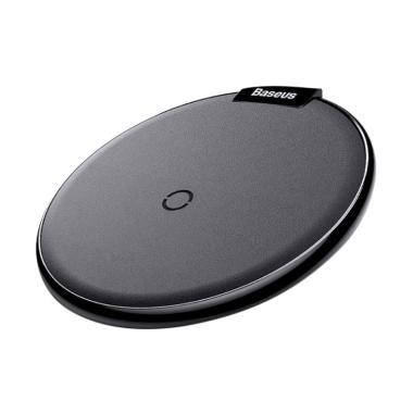Baseus Leather Dekstop Wireless Charging - Hitam