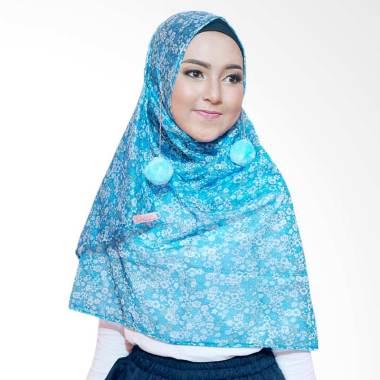 Quillavers Amarilis Hijab Instant – Blue