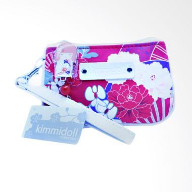 harga Kimmi Coin Purse With Card Holder Tamaki Dompet - Pink Blibli.com