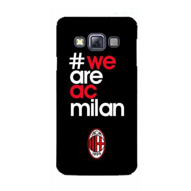OEM AC Milan We Are 24 Hardcase Casing for Samsung A3 2015