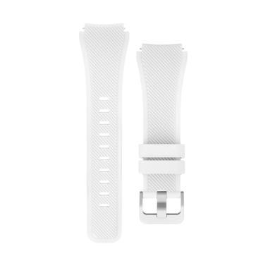 Wakaka Sport Silicone Strap for Samsung Gear S3 - Putih
