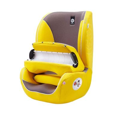 Kiddy Germany Beetle Group-1 Car Seat Booster - Yellow