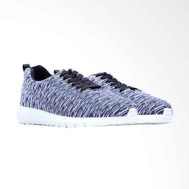 Life8 Lightweight Deodorant Insoles Space Sneakers Sport Shoes Sepatu Pria  - Blue [09479]