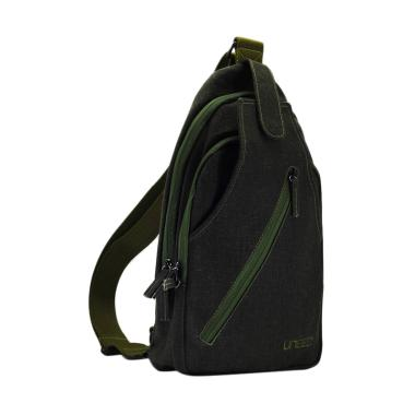 Uneed UB213 Like Sling Bag for Tablet 10 Inch - Army Green