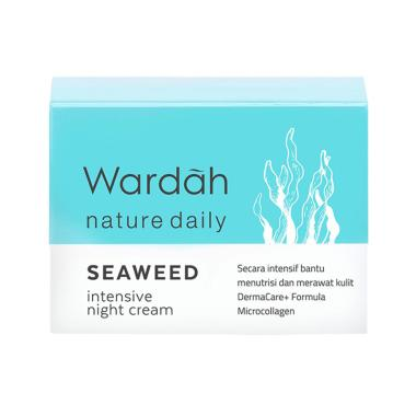 Wardah Seaweed Intensive Night Cream [30 g]