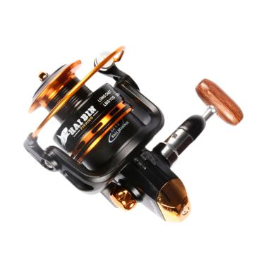 Haibin Fishing YA4000 12 Ball Bearing Reel Pancing - Black Gold
