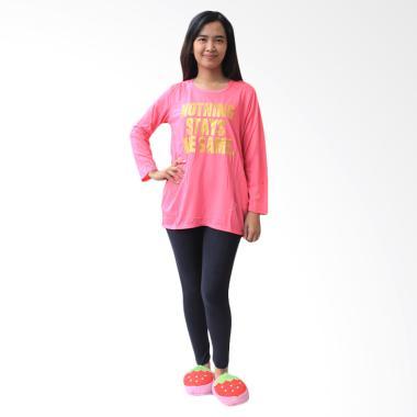 aily_aily-aly023-setelan-baju-tidur-wanita---pink_full04 Kumpulan Harga Baju Tidur Wanita Warna Pink Teranyar 2018