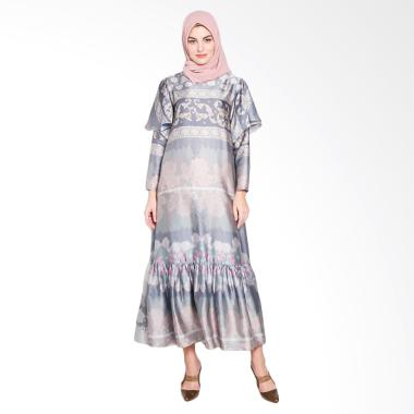 Ria Miranda Oliver Dress Muslim - Blue