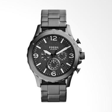 Swiss Army - Dual-Time- Jam Tangan Pria - SA-1502 Full Black