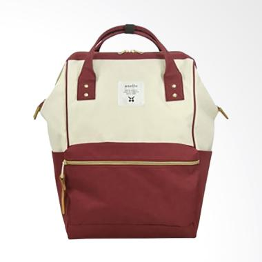 Anello AT-B0193A Polyester Tas Ransel Backpack - White Wine