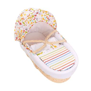 Mothercare Hello Friend Moses Basket Tempat Tidur Bayi