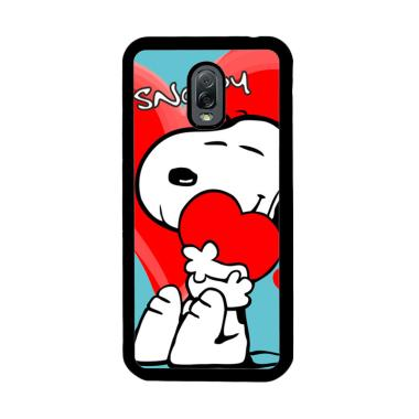 Flazzstore Snoopy Love Heart C0166  ... or Samsung Galaxy J7 Plus