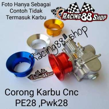 harga Corong Karbu Cnc Lokal SLIM PE28 Pwk28 Biru Blibli.com