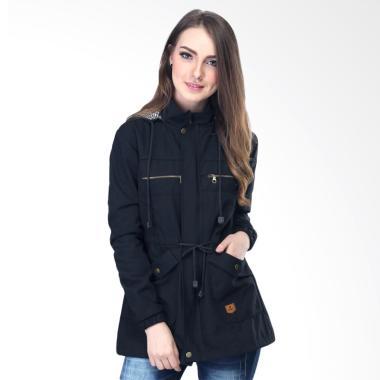 Inficlo SIP381 Parka Canvas Fashion Jaket Wanita - B... Rp 680.000 ... 839f3b0951