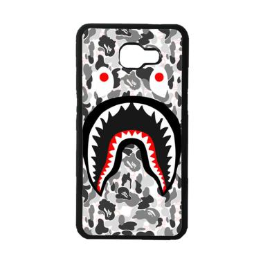 Acc Hp A Bathing Ape White Camo Shark J0025 Casing For Samsung Galaxy A7 2016
