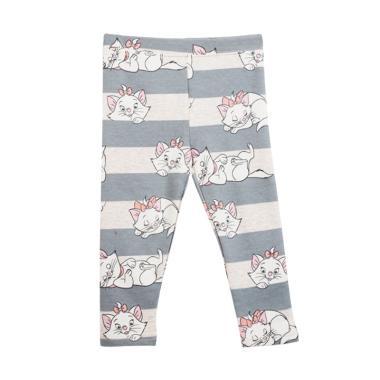 Cargo Bg L05 Cat Celana Legging Anak Perempuan - Grey
