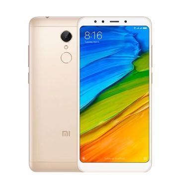 Blibli Now- Xiaomi Redmi 5 Smartphone - Gold [2 GB/16 GB/Resmi TAM]