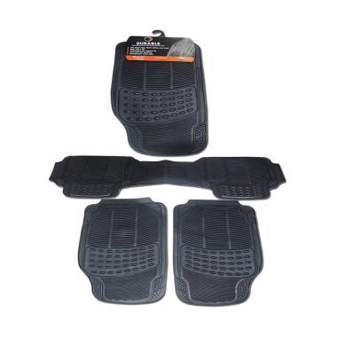 DURABLE Comfortable Universal PVC K ... uzuki APV - Black [3 Pcs]