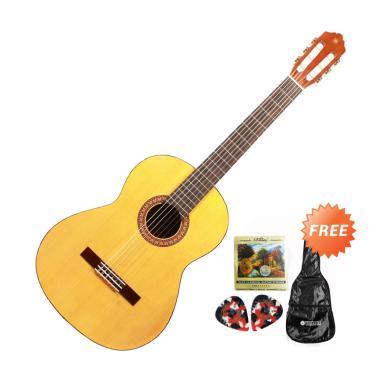 Yamaha C-315 Gitar Klasik - Natural + Free Softcase + 2 Pick + Set Senar