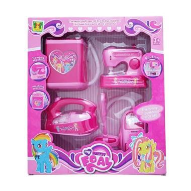 Yoyo Toys Pony Household Play Set Mainan Anak