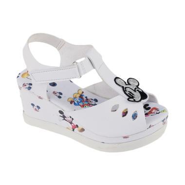 Syaqinah 217 Sandal Anak Perempuan - Putih