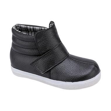 Syaqinah 170 Sepatu Boots Anak Perempuan - Hitam