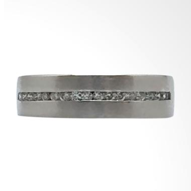 Pentacles FC01842 Wedding Ring White Gold With Diamond